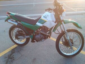 Yamaha serow 223  пробег 25000   1997г. лот 24